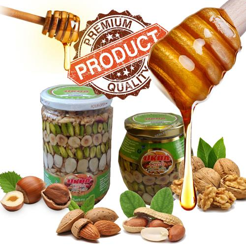 Nuts with Honey, Sweet Nuts - High Quality Nuts & Honey