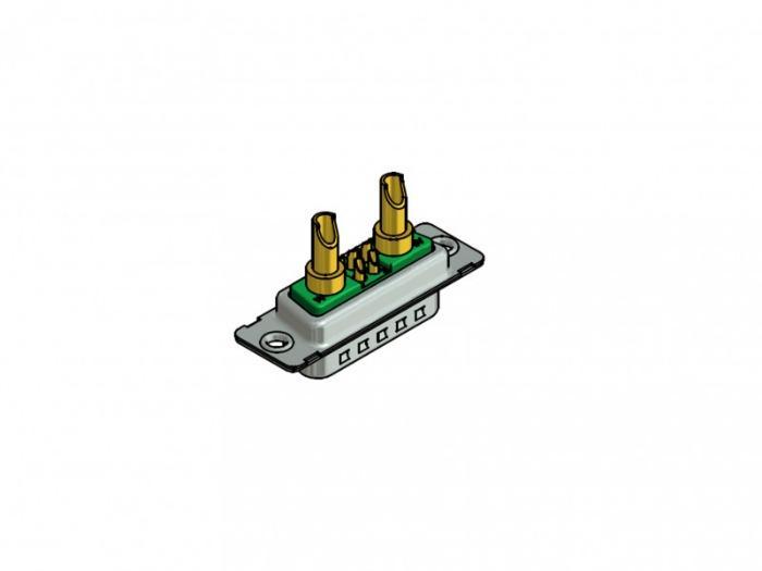 D-SUB Combination connector - D-SUB Combination Plug connector 7W2