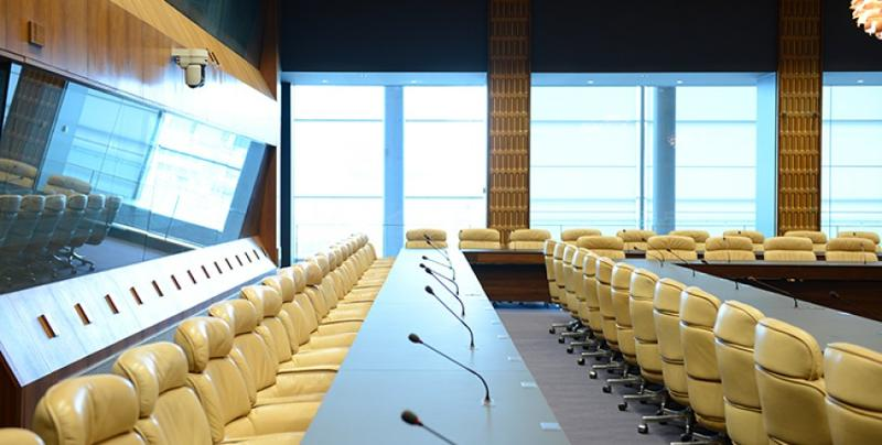 Salle D et son bar - European Convention Center  - Service Evenementiel