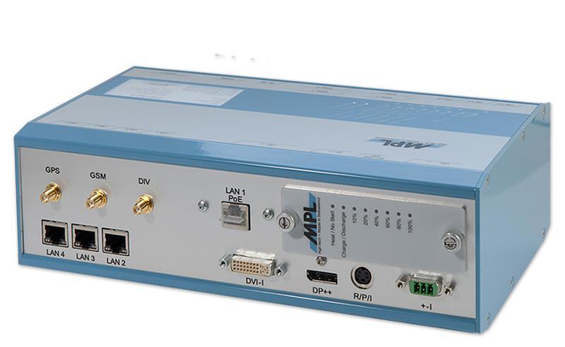 PIP30: Rugged Embedded Computer Lösung - mit Intel Core i7 und Celeron Processor