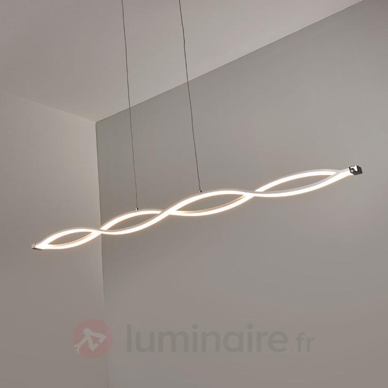 Suspension en forme de vague Tura LED vives - Suspensions LED