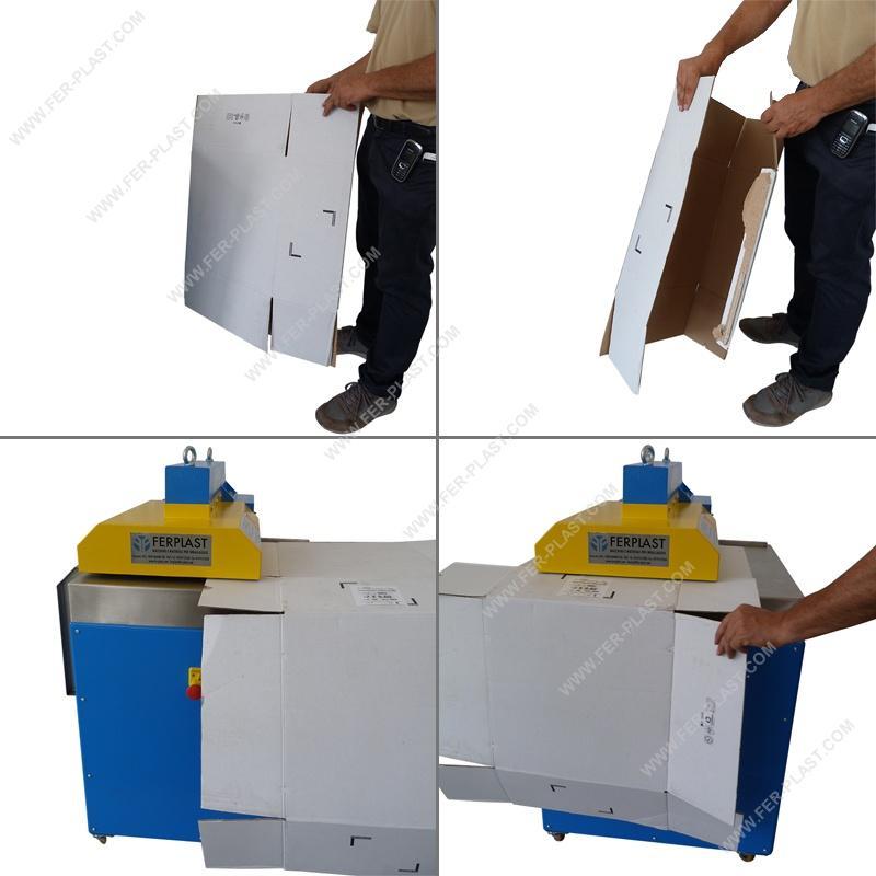 Converesy Z400 - Imballaggi: attrezzature e materiali