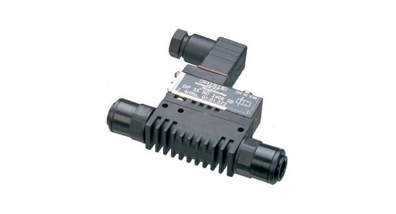 Electrovannes 2/2 pour l'air comprimé - Accessoires Systèmes