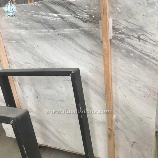 Jazz White Marble Slabs Tiles - Slabs And Tiles