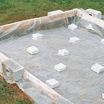 Étanchéité et soubassement - Matériaux de construction