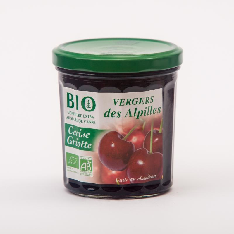 Vergers BIO - Cerise / Griotte - Confitures Biologiques au sucre de canne