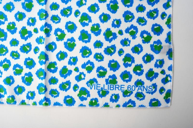Foulard imprimé (anniversaire association) - Cadeau d'affaire, notre spécialité