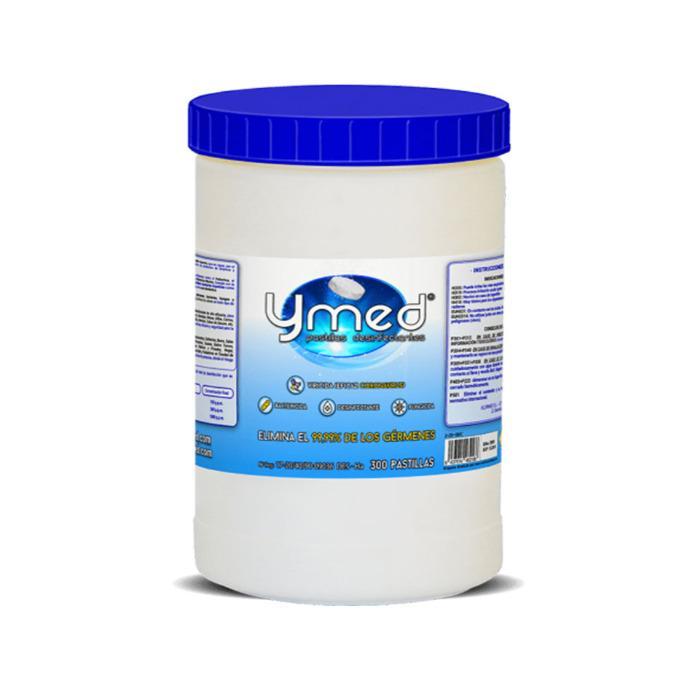 Ymed Forte Limpieza y desinfeccion pastillas (300) - Viricida, Bactericida y Fungicida. Homologado por sanidad .