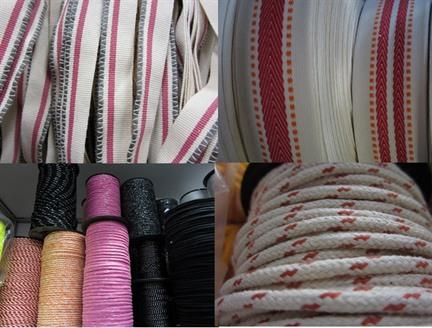 Woven Tapes - Ideal for clothing and footwear