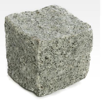 Cubos de granito - Granito Cinza