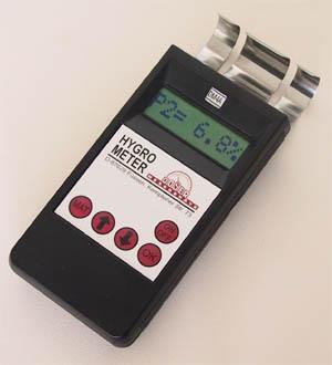 Lederfeuchte - Messgerät  - LD2