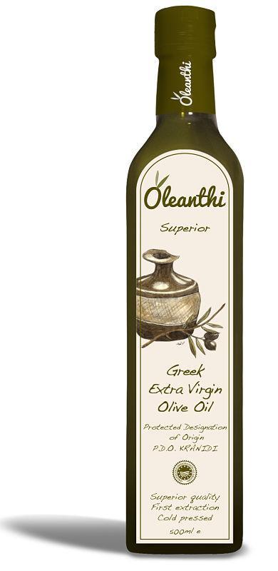 Extra Virgin Olive oil, Oleanthi