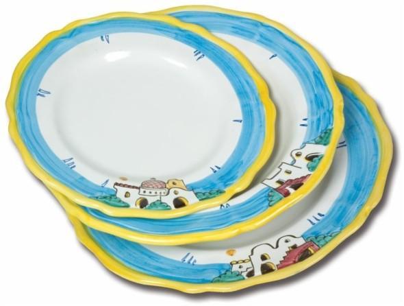 L'Oggettistica - Linee tradizionali - Tris piatti da portata