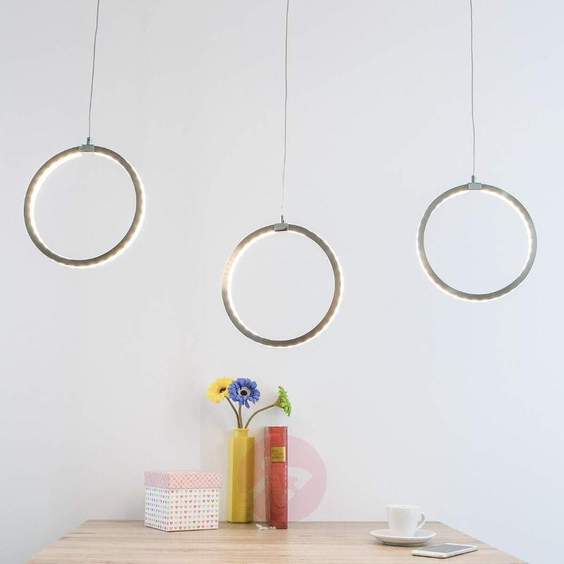 Gavin - LED pendant lamp with 3 rings - Pendant Lighting