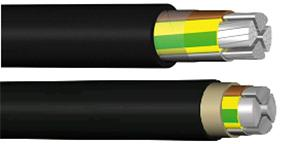 PVC insulated power cables -
