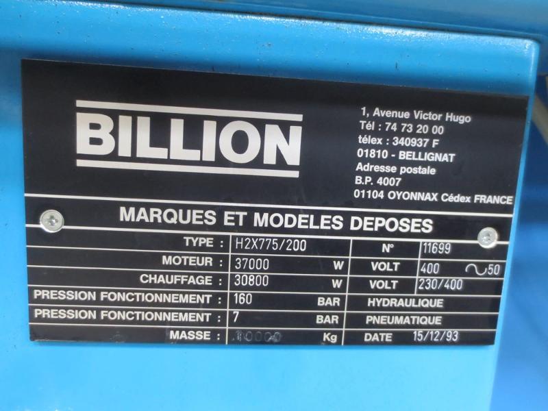 PRESSE A INJECTER BI COLOR - Machines d'exception Référence : 784