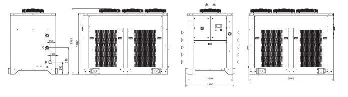 Tcod4÷g8 Grandezza 5 Refrigeratori Industriali Per Olio - LINEA REFRIGERAZIONE
