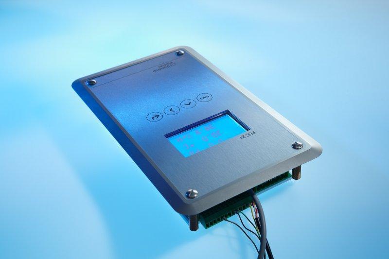 Trasduttore di pressione differenziale PUC 24 - Panello per camera bianca per la visualizzazione dei dati ambientali