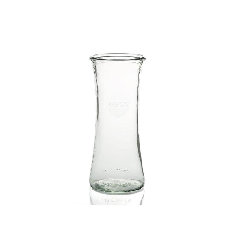 6 vasi in vetro WECK Bobine® 700 ml  - con coperchio di vetro ed guarnizione (graffe non incluse)