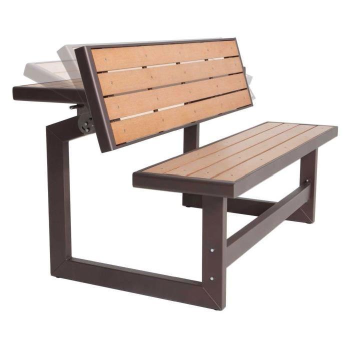 table/banc 2 en 1