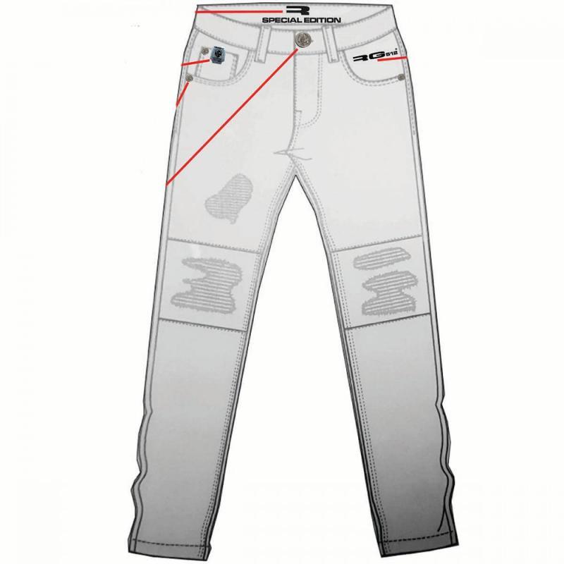 5x Pantalons RG512 du 6 au 14 ans - Jeans et Pantalon