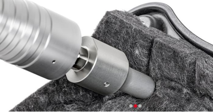 El equipo de soldadura por ultrasonidos manual HandyStar Ene - La solución para la soldadura manual por ultrasonidos, así como remachar, rebord
