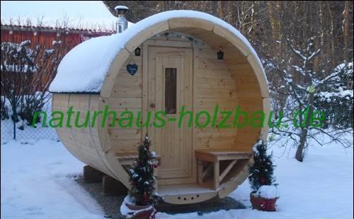 Naturhaus Fasssauna NH 280/2,00