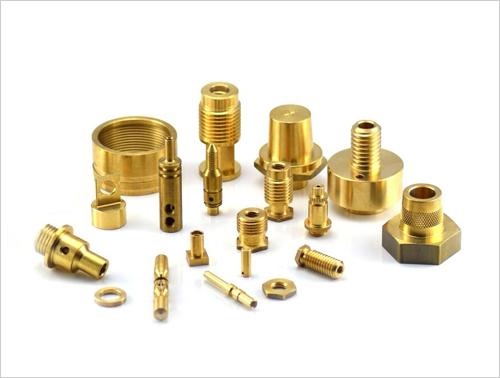 Brass Precision & Turned Components - Brass CNC Turned Components