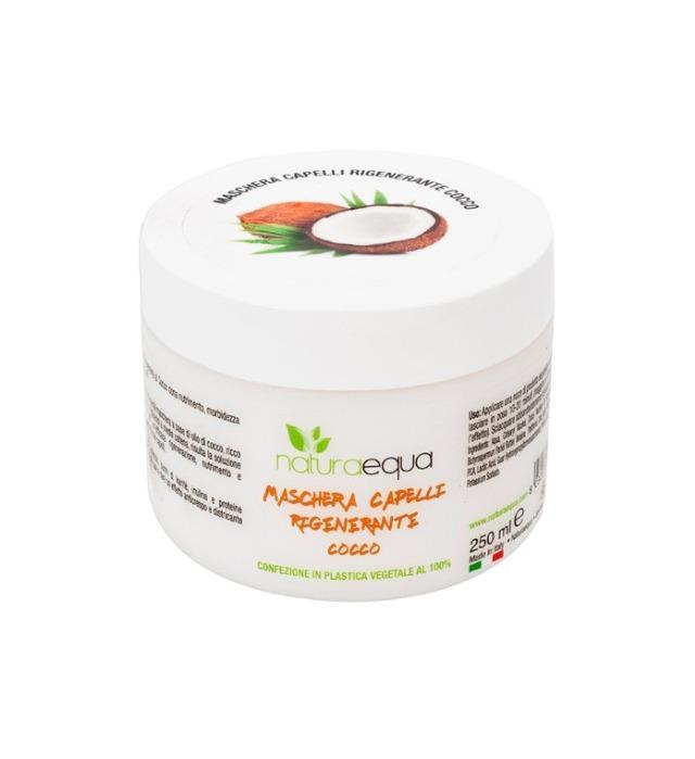Maschera capelli rigenerante cocco 250ml - Maschera supernutriente e rigenerante al cocco, specifica per capelli secchi