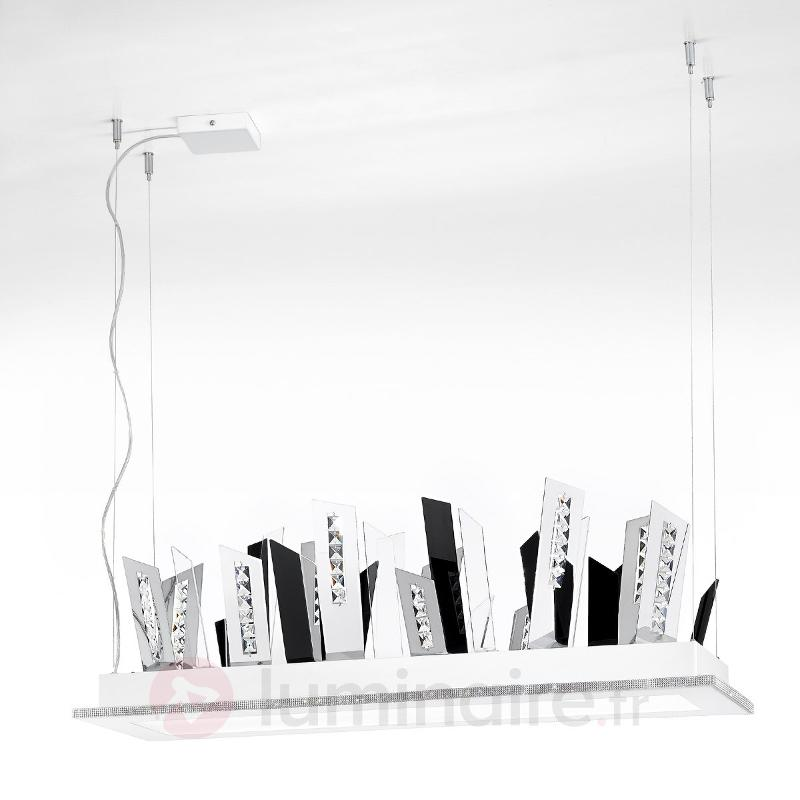 Suspension LED SKYLINE chromé - Suspensions LED