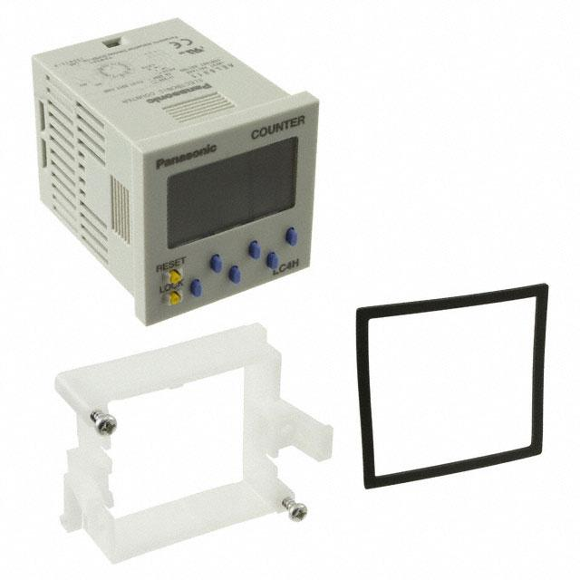 COUNTER LCD 6 CHAR 100-240V PNL - Panasonic Industrial Automation Sales LC4H-R6-AC240V