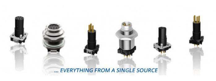 Panel mount connectors SMT/THR - Panel mount connectors SMT/THR