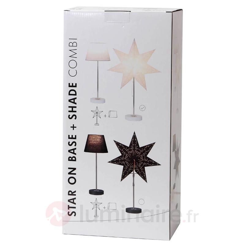 Lampe décorative Agora blanche set combi - Etoiles de Noël