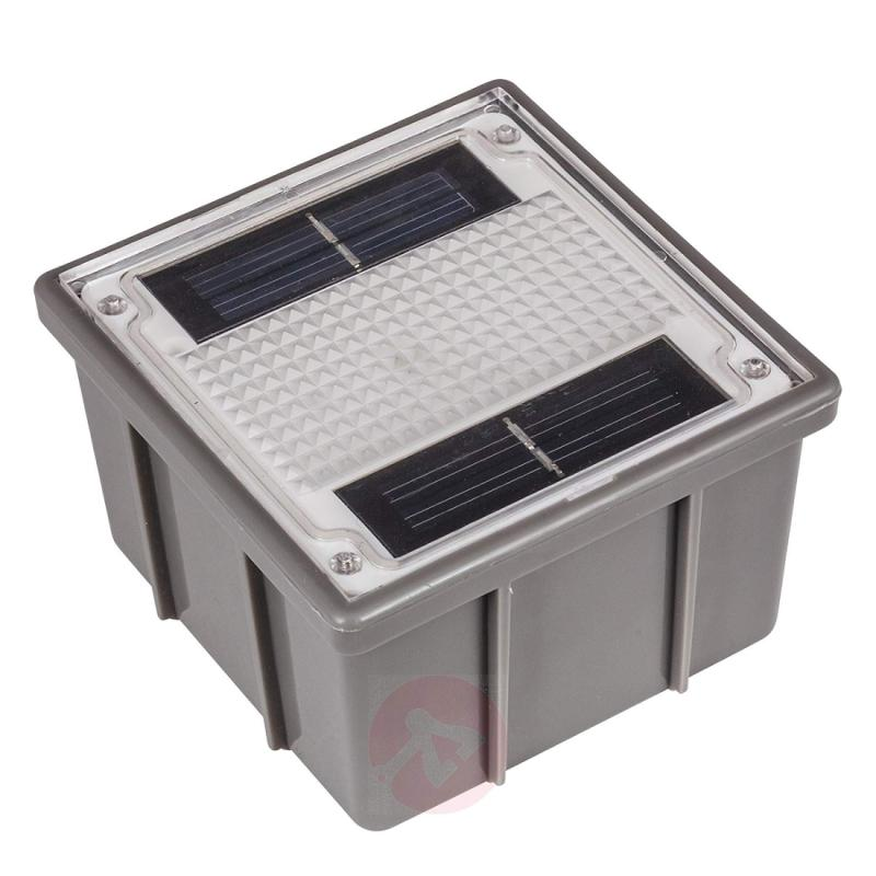 Solar recessed floor light Paving Stone with LED - outdoor-led-lights