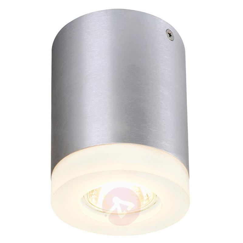 Tigla Round Ceiling Spotlight Aluminium - Ceiling Lights