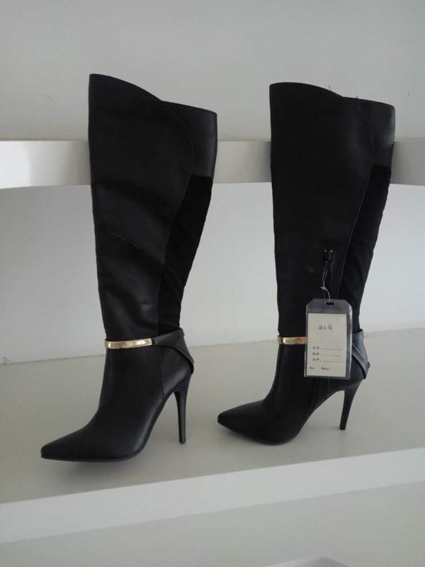 chunky heels boots for women