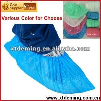 Disposable Dustproof Plastic Shoe Cover in...