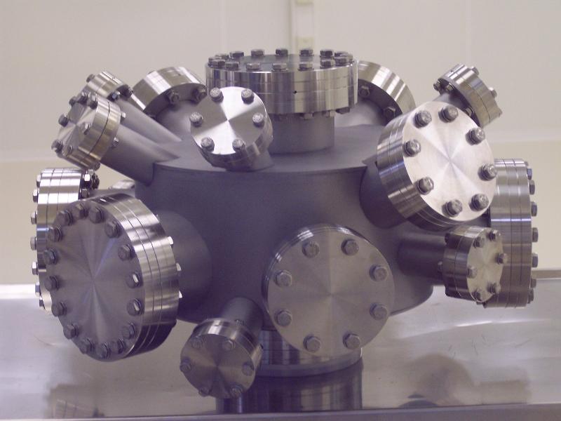 Vakuumkammern aus Edelstahl, Titan, Aluminium