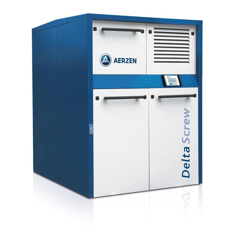 AERZEN VM/VML Delta Screw Generation 5 packaged unit  - Oilfree screw compressor