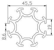 Profilés - ronds - profiles d55