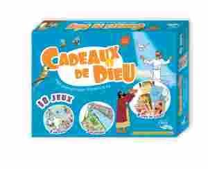 Boîtes de jeux bibliques pour enfants