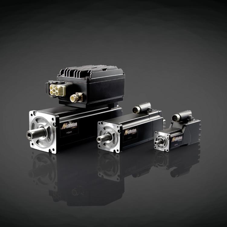 HeiMotion dezentrale Antriebslösungen - Servomotoren mit integrierter oder aufgesetzter Elektronik