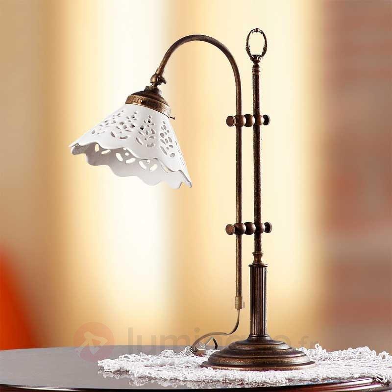 Magnifique lampe à poser PIZZO - Lampes à poser rustiques