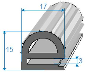 Manufacturing of heat-insulating rubber profiles