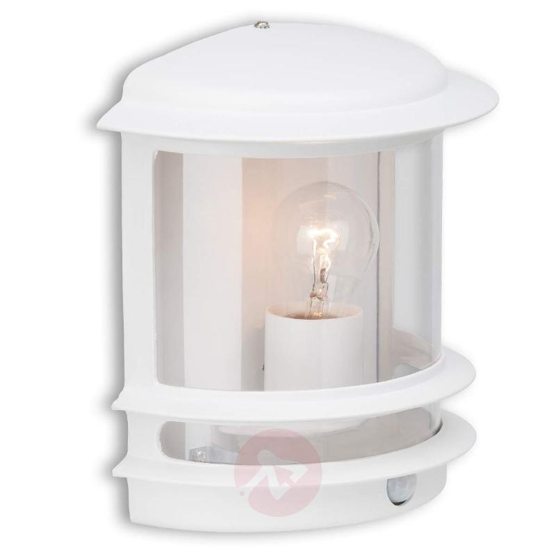 Hollywood outdoor wall light - w/ motion detector - Wall Lights with Motion Sensor