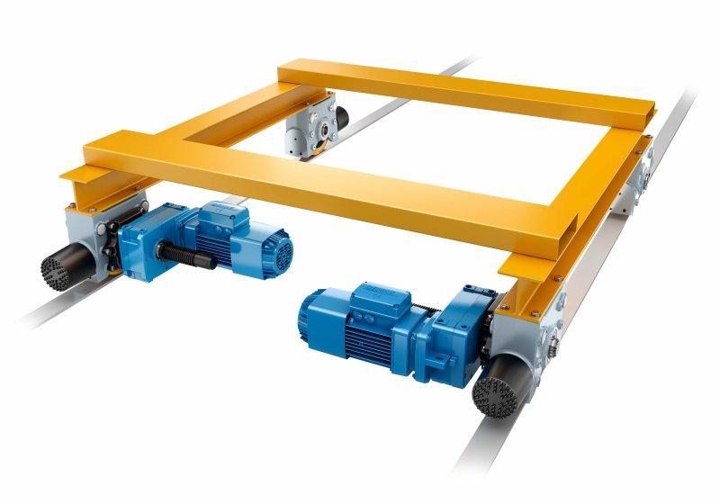 Gruppo ruote Demag DRS - Sistema modulare per soluzioni su misura - Gruppo ruote Demag DRS