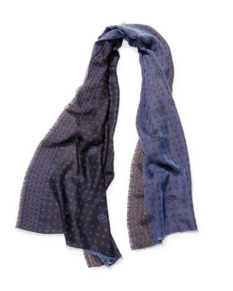 Etole mini palmettes - col 1 – bleu gris