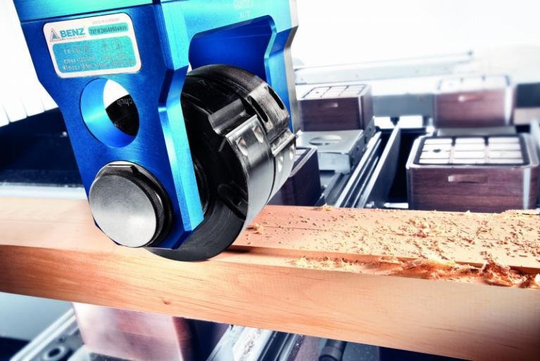 Moulder head MOULDER - CNC unit for machining of wood, composites and aluminium
