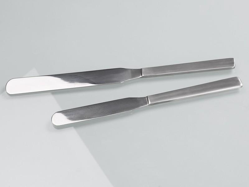 Palette knife spatula stainless steel - Sampler, laboratory equipment, 200 mm or 250 mm length