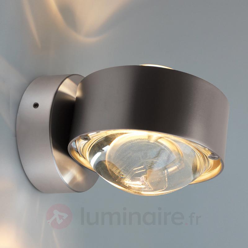 Applique PUK WALL avec 2 lentilles - Appliques chromées/nickel/inox